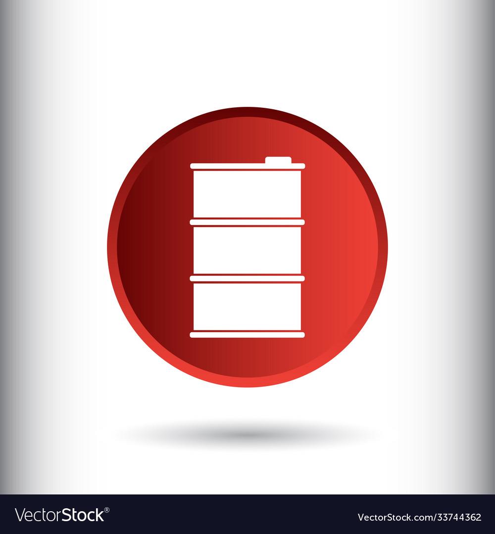 Fuel barrel icon sign icon barrel symbol
