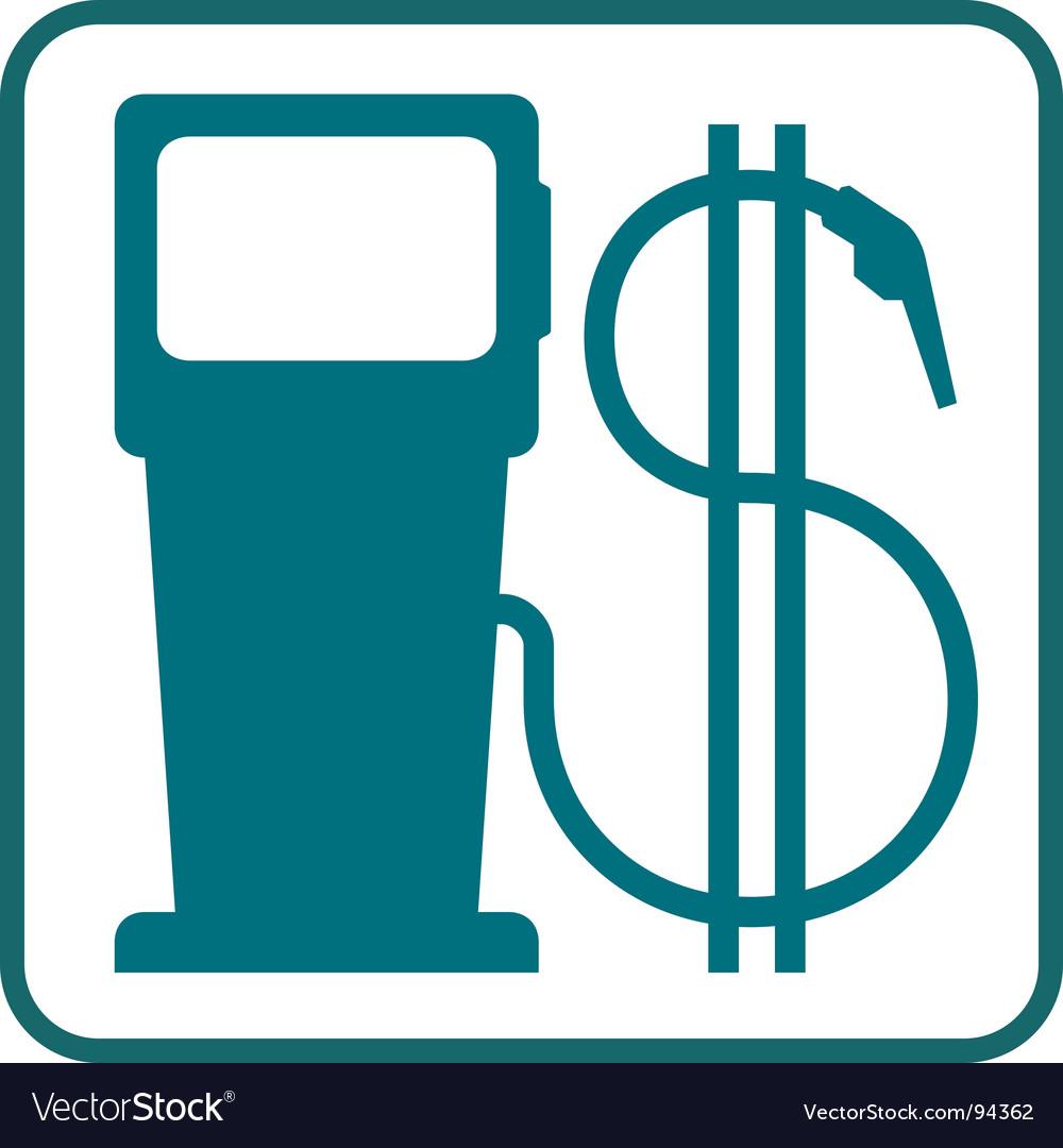 gas pump nozzle vector. Gas Pump Vector