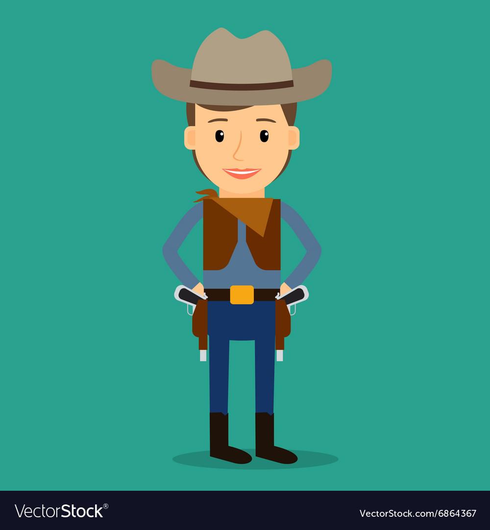 Country western Boy dressed as cowboy