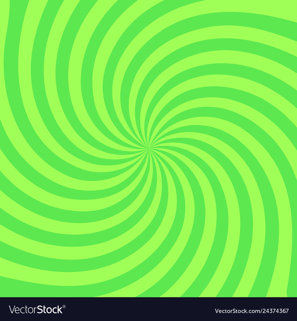 Retro radial background stylish green colored