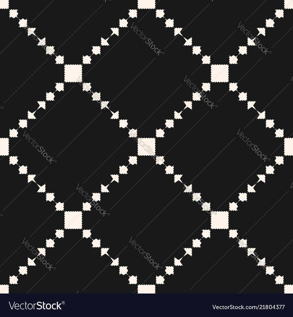 Geometric ornament pattern with squares