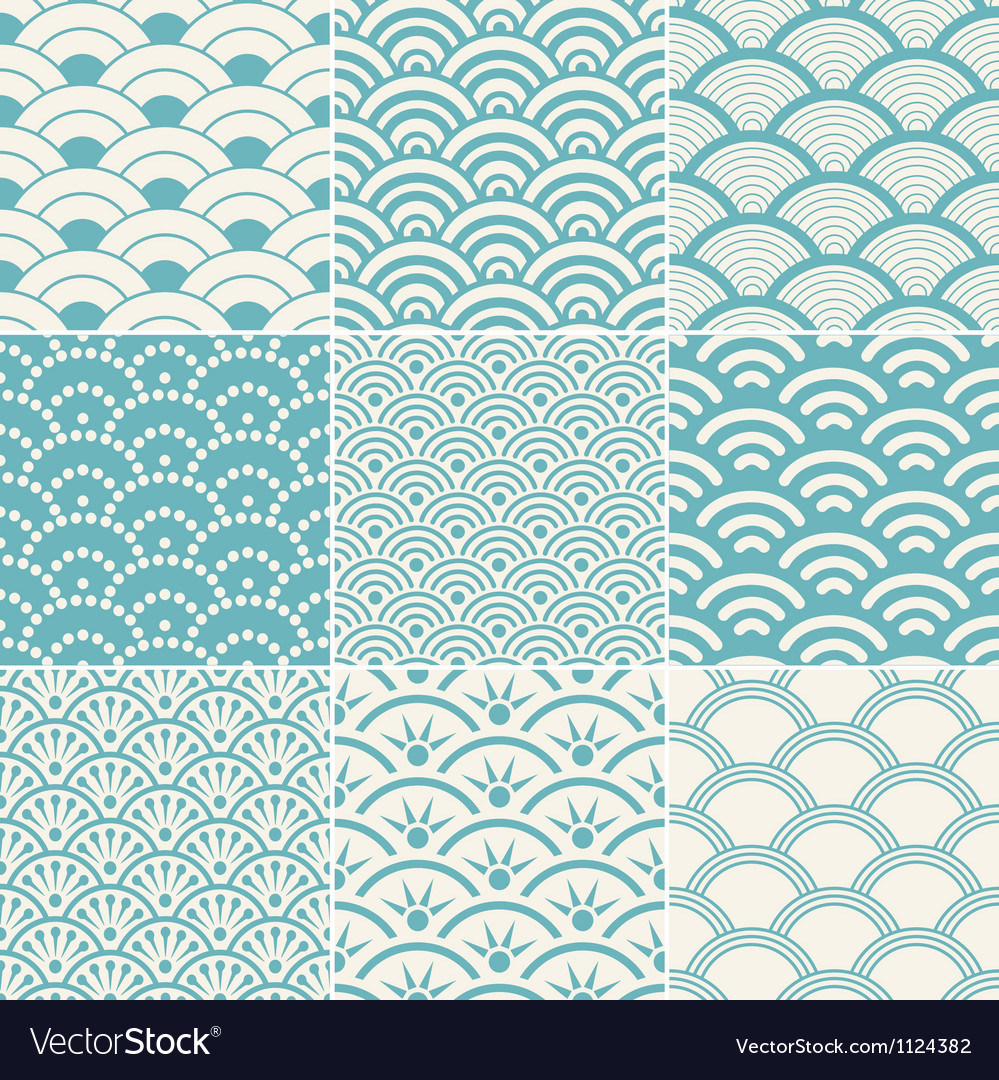 Ocean Wave Pattern Custom Design Inspiration