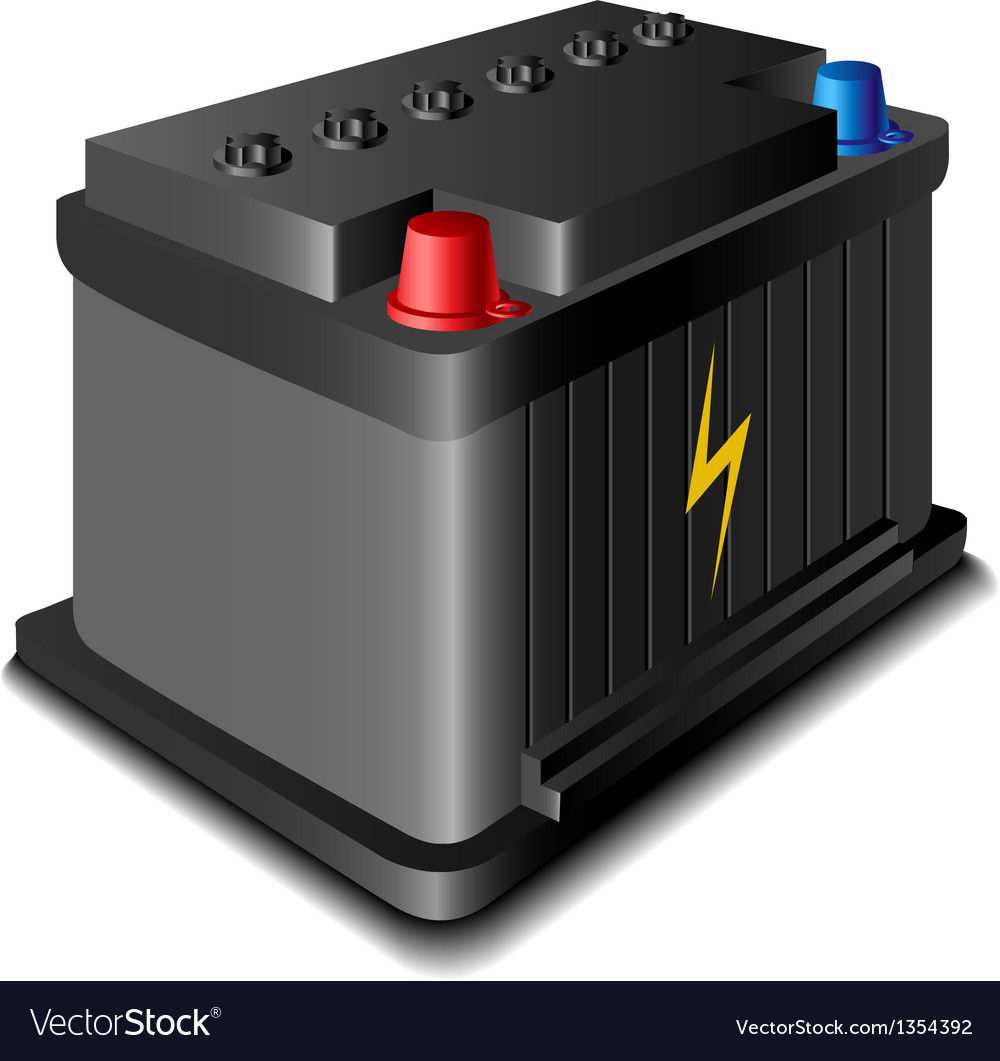 Battery Car 12v Vector Images 63