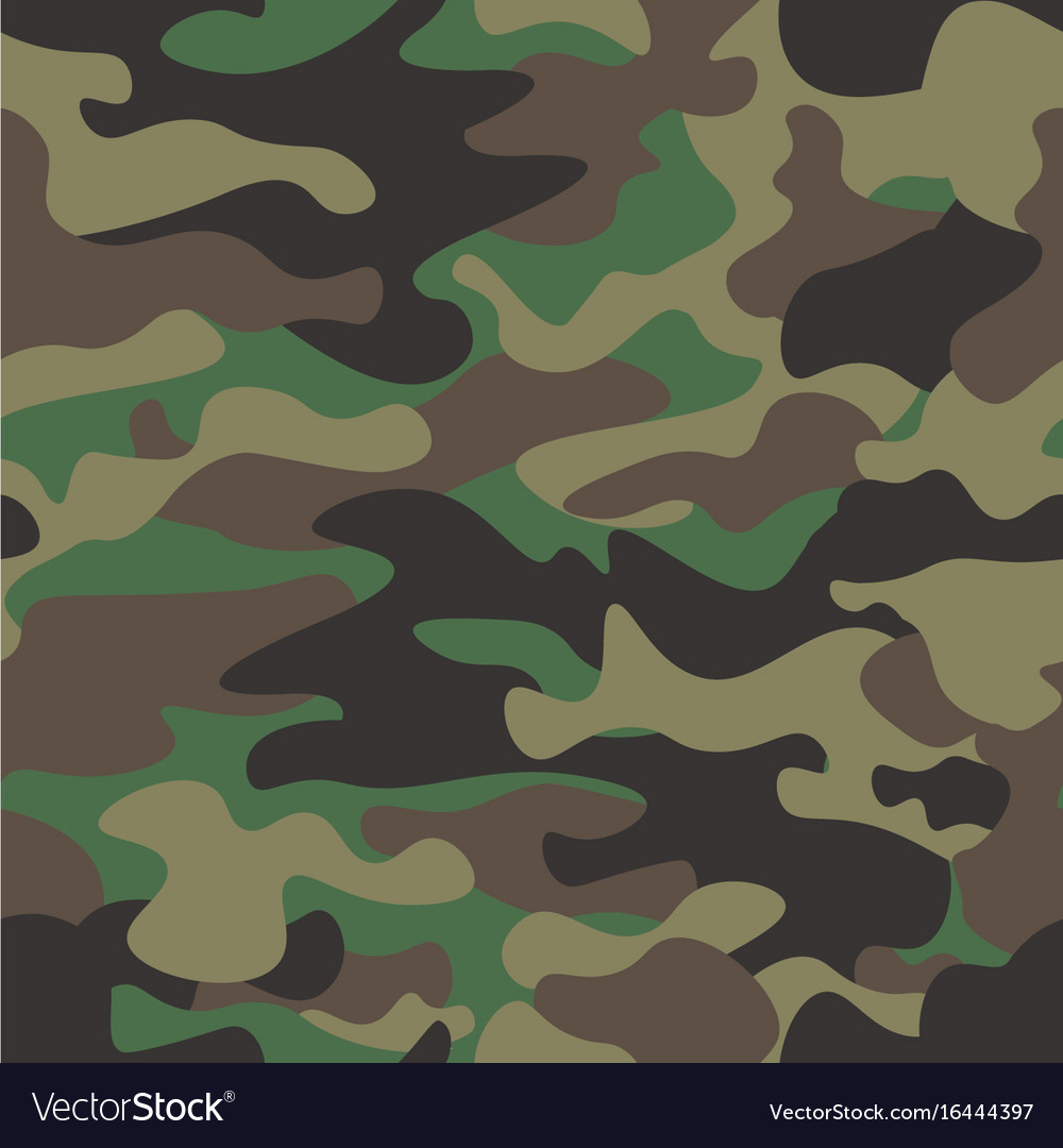 Camouflage seamless pattern background classic