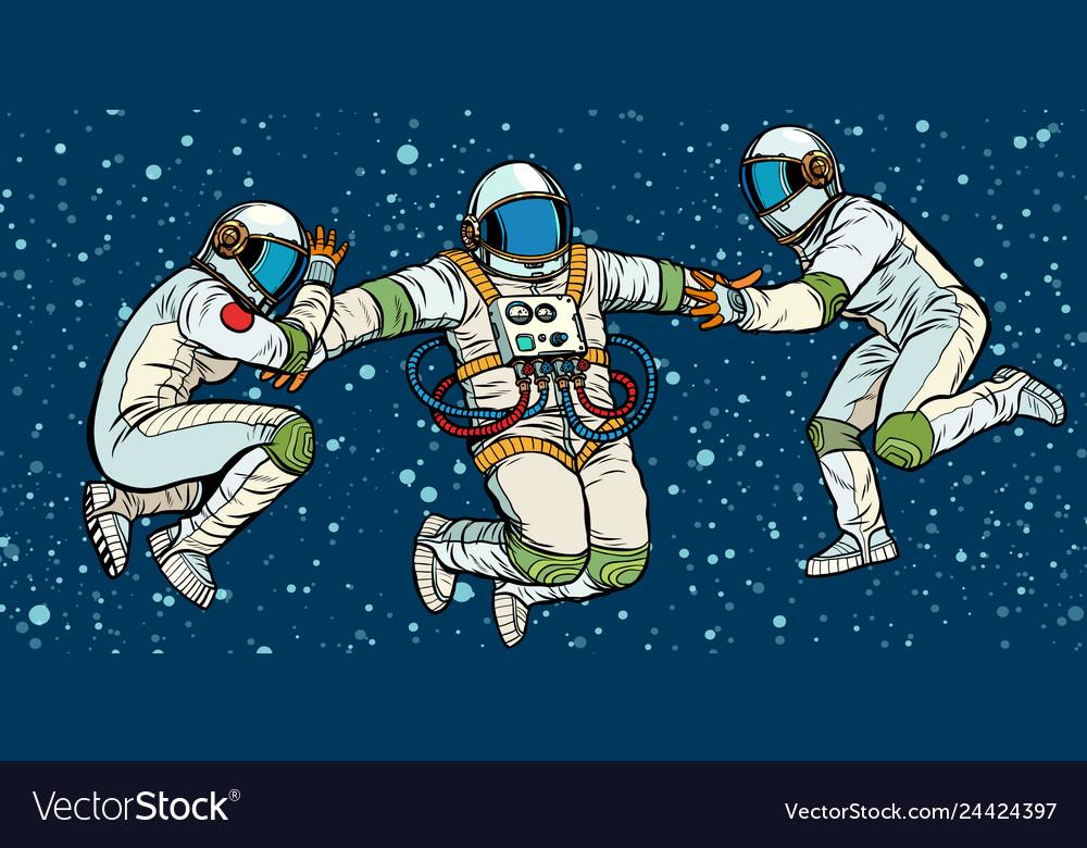retro astronaut posters - 1000×780