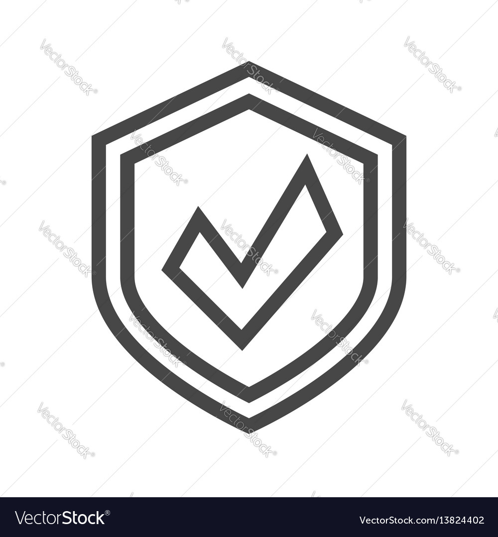 Protection thin line icon