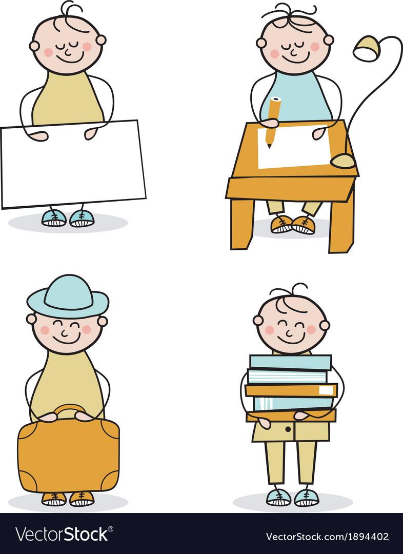 Young Boy Cartoons