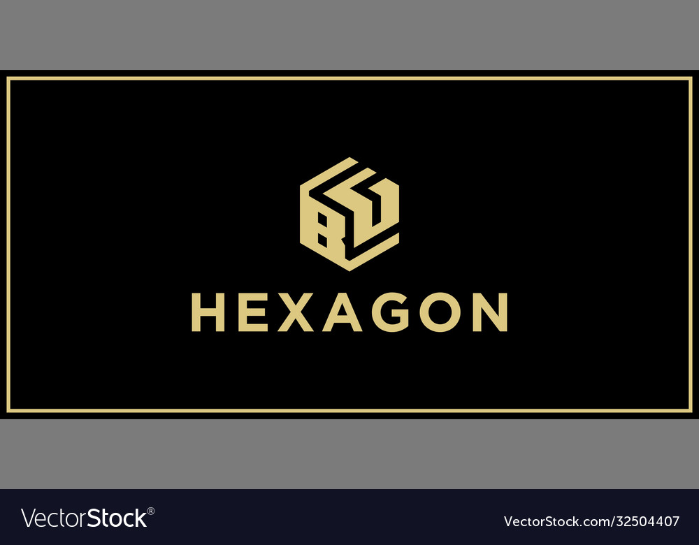 Bg hexagon logo