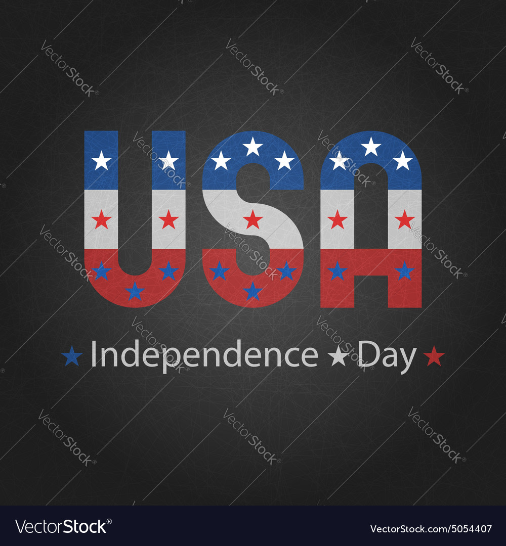 Independence day of usa grey background for poster