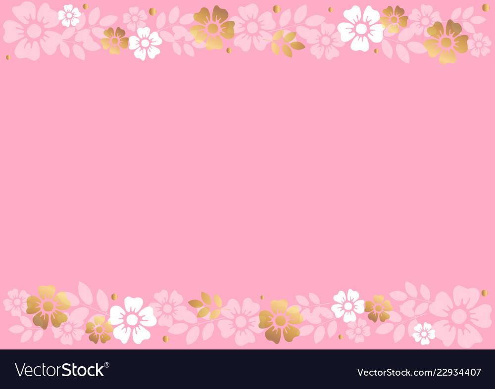 Baground Bunga Pink – Goreng
