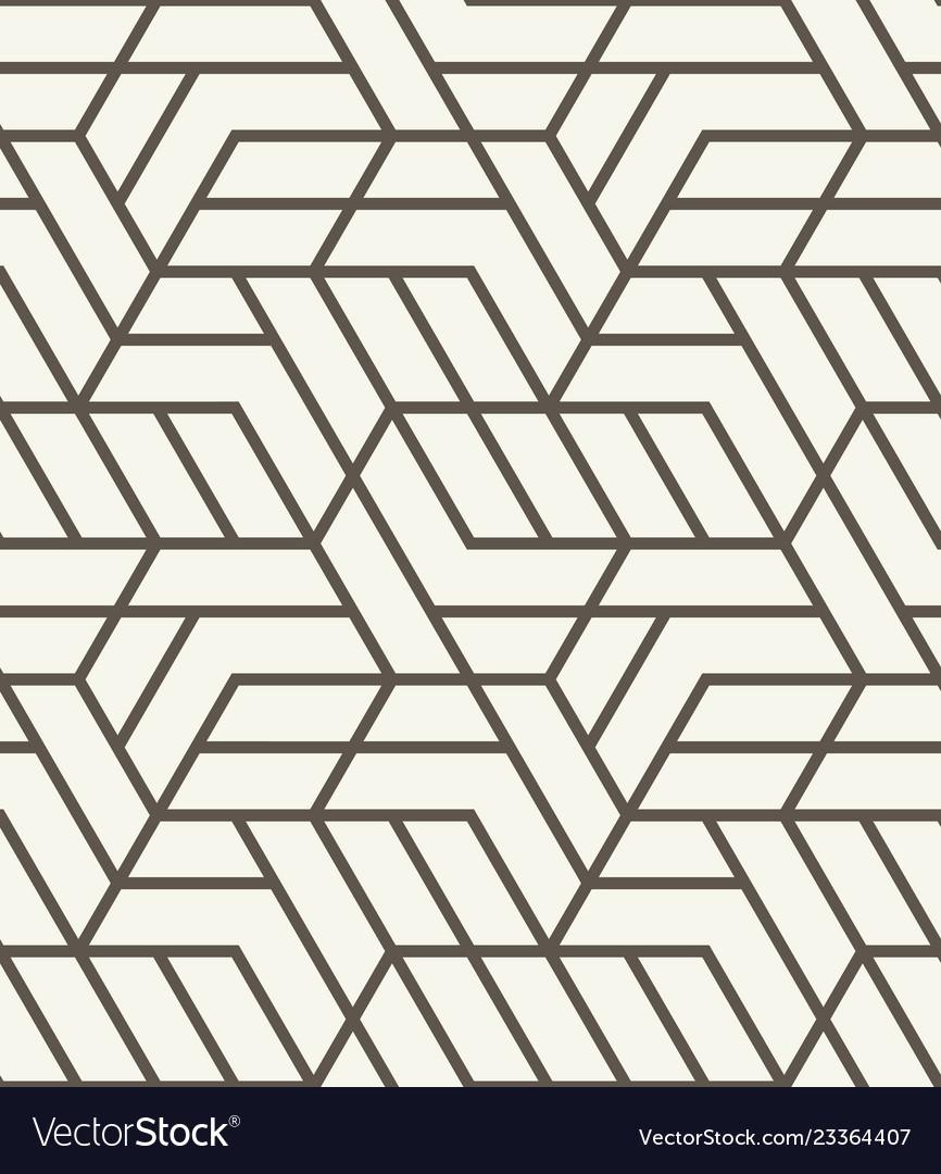 Seamless background repeating geometric