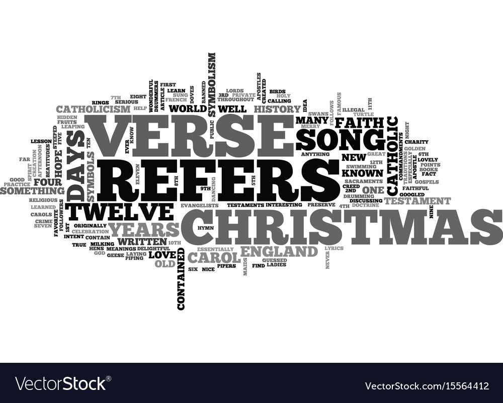 A christmas history lesson text word cloud concept