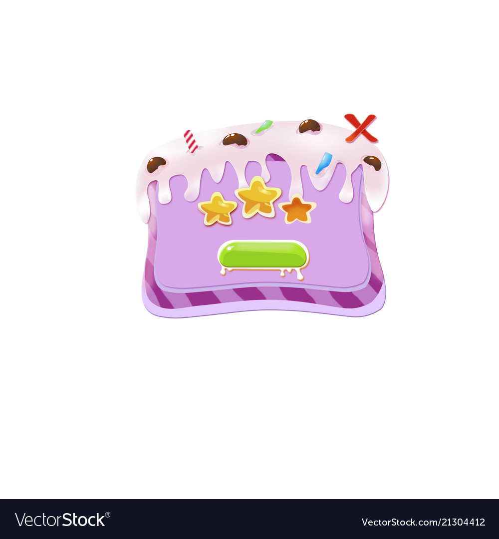 Cake background for game button