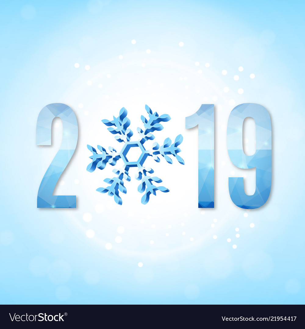 2019 new year sign
