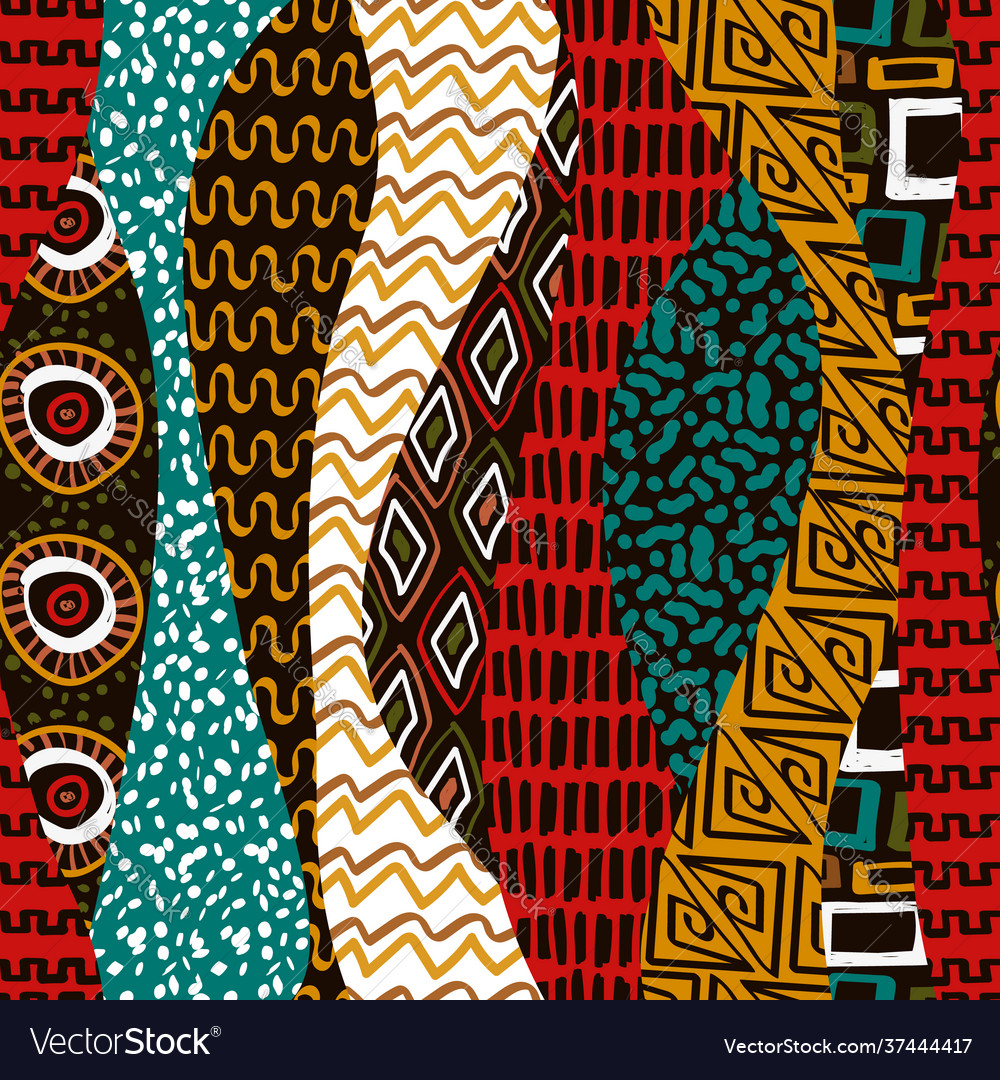 African tribal art traditional africa seamless