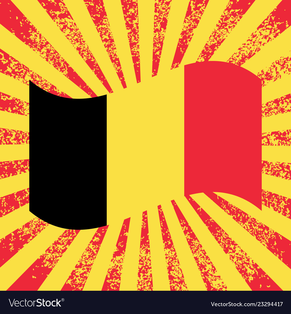 Belgian national day flag of belgium rays from