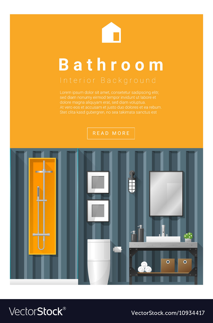 Interior design Modern bathroom banner 6