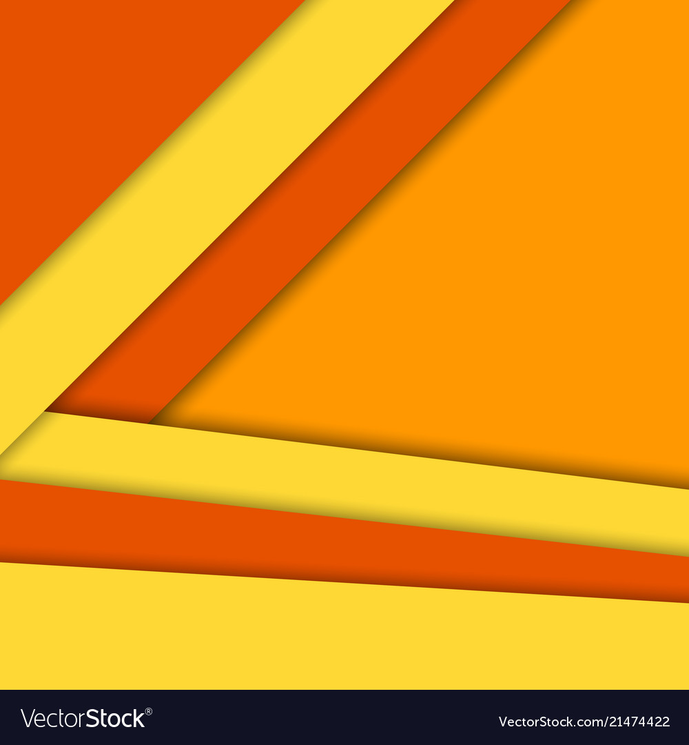 Material design backgroundbright warm colors