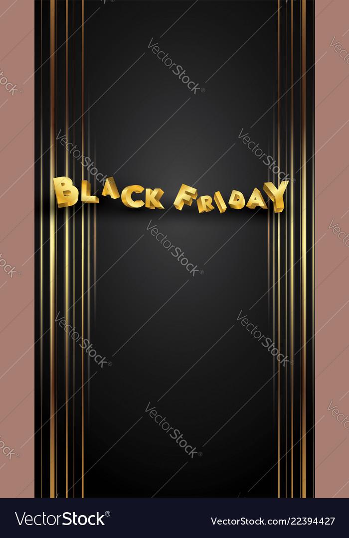 Black friday background layout background black