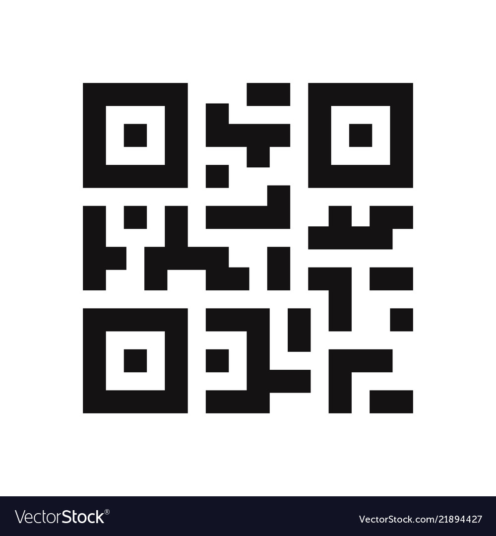 Qr Code Icon Royalty Free Vector Image Vectorstock