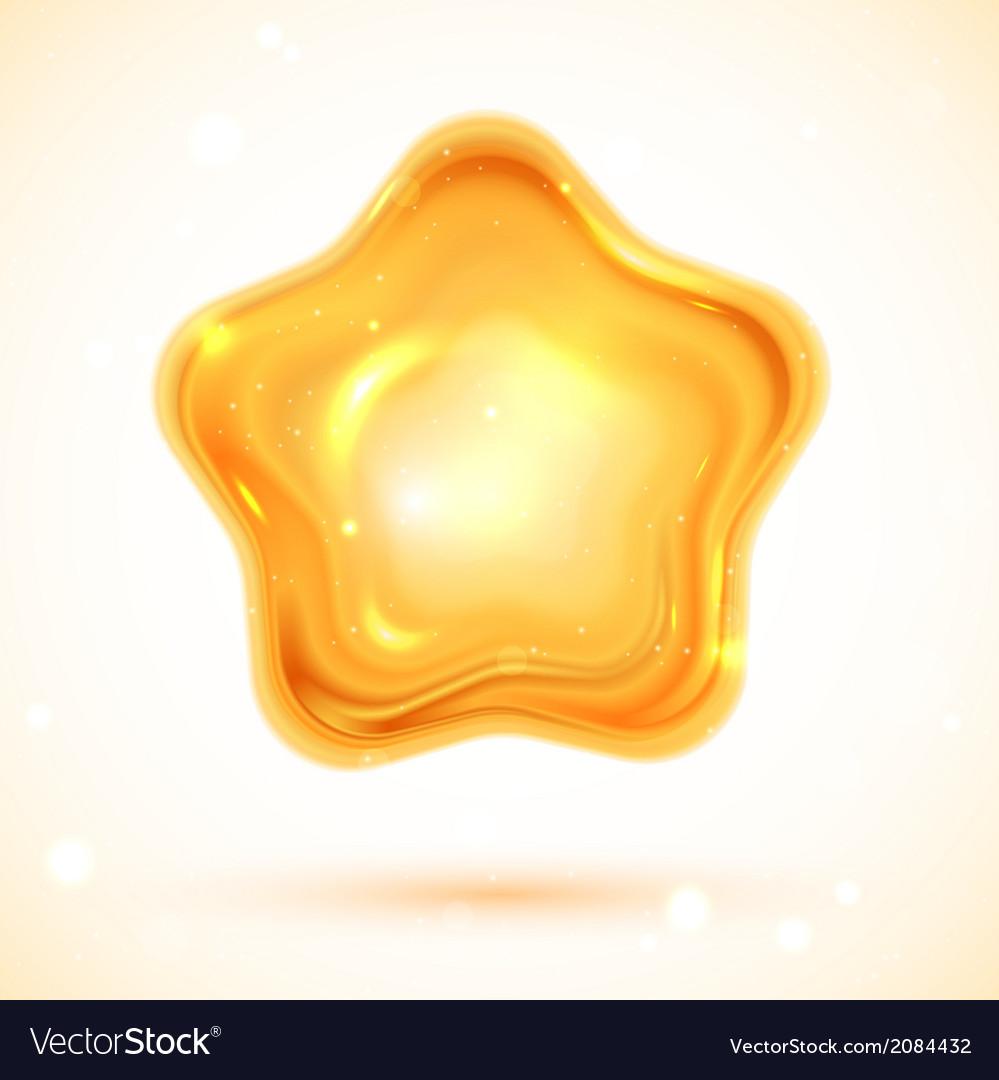 Shiny 3d star