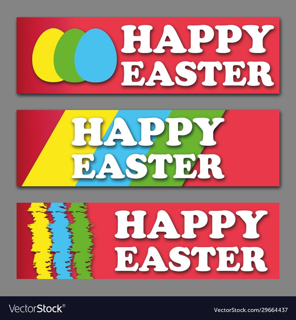 Easter egg poster design