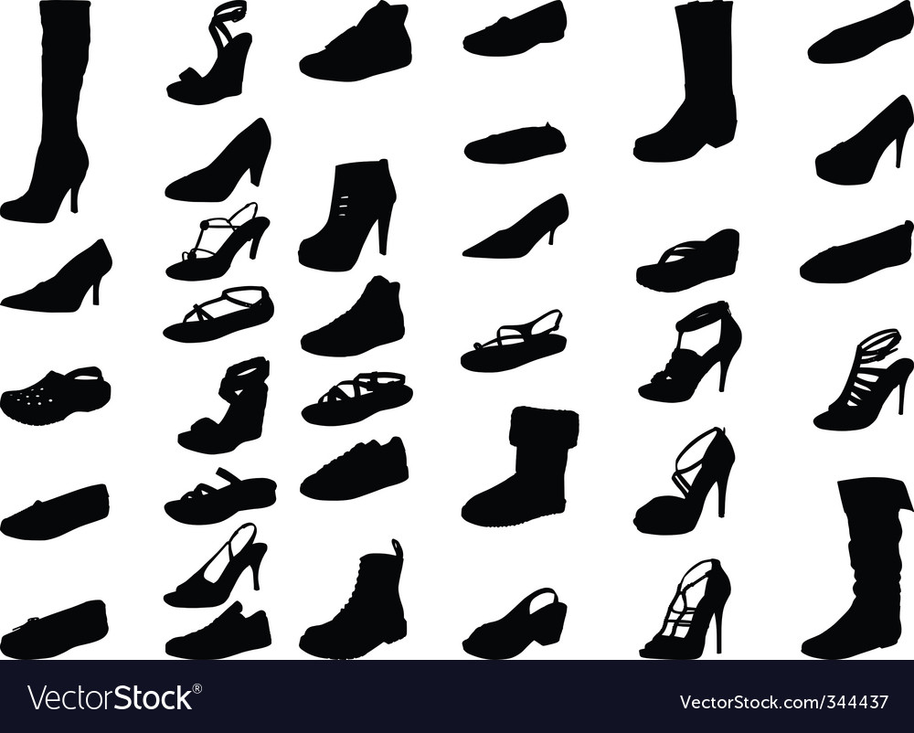 Shoe silhouette high quality