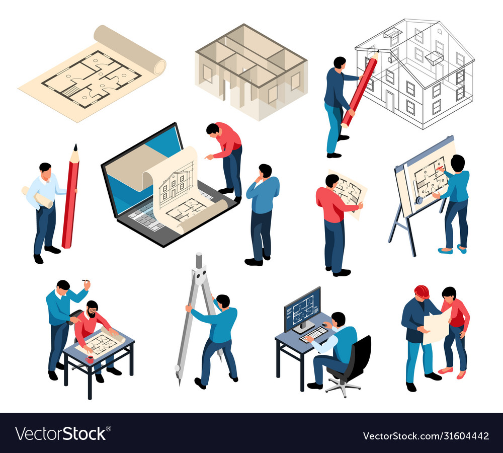 Professional architects and designers set