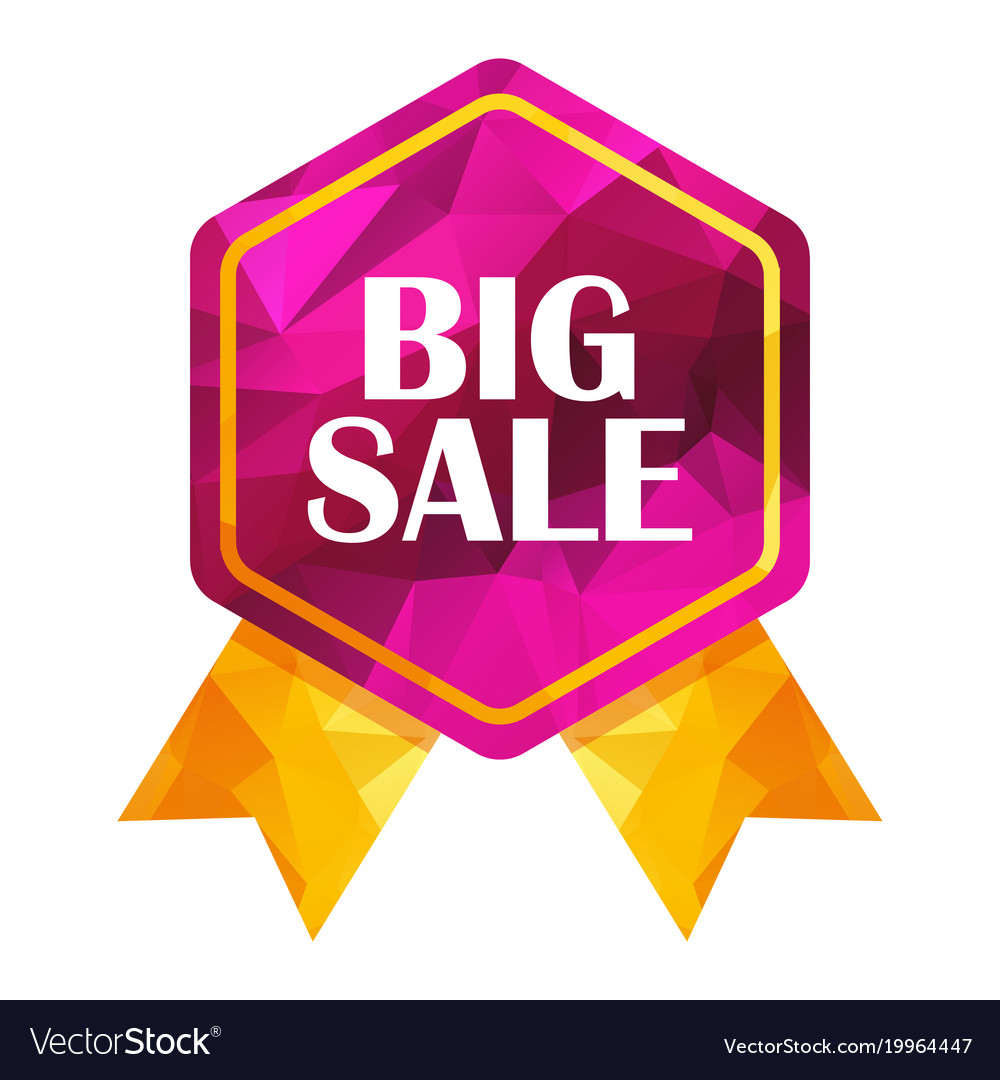 Big sale triangle tag