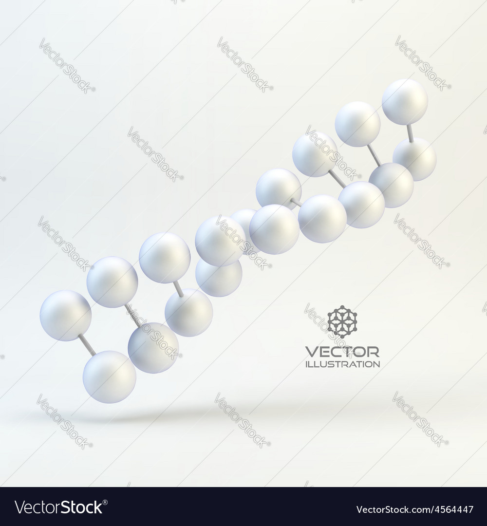 Dna structure in 3d With