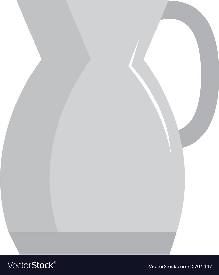 Kitchen teapot isolated icon