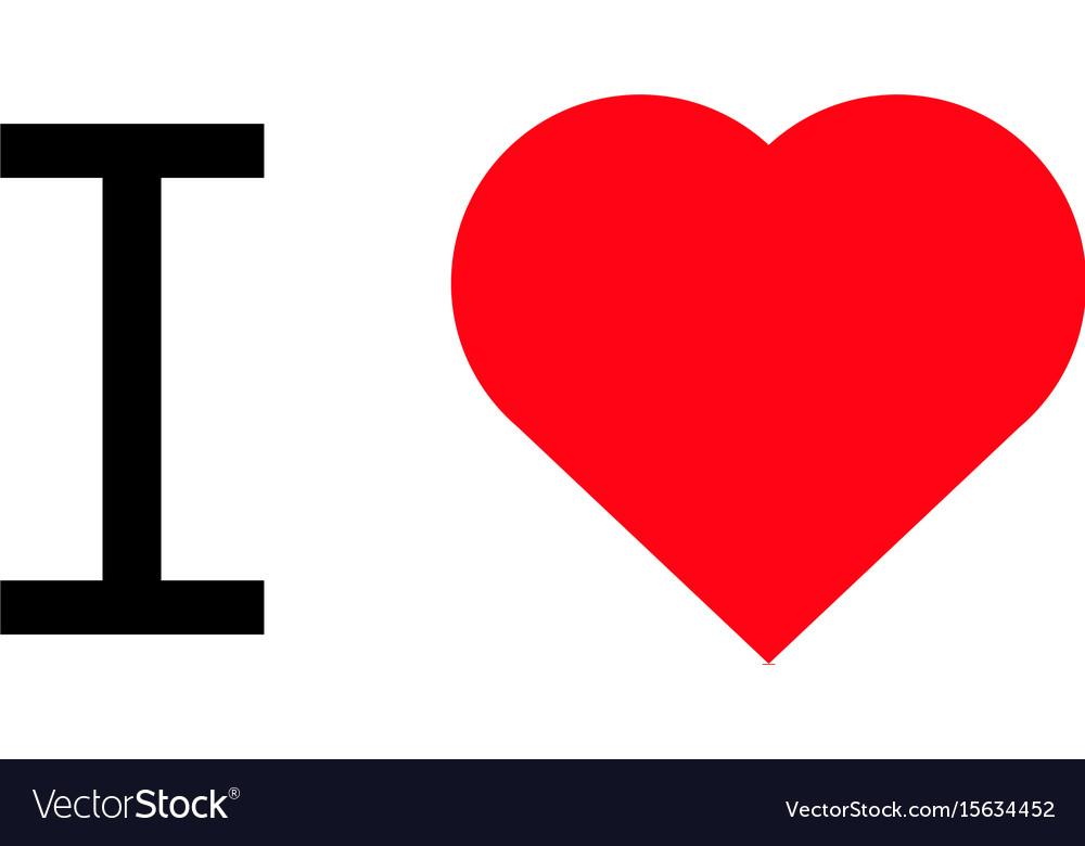 I love popular symbol heart
