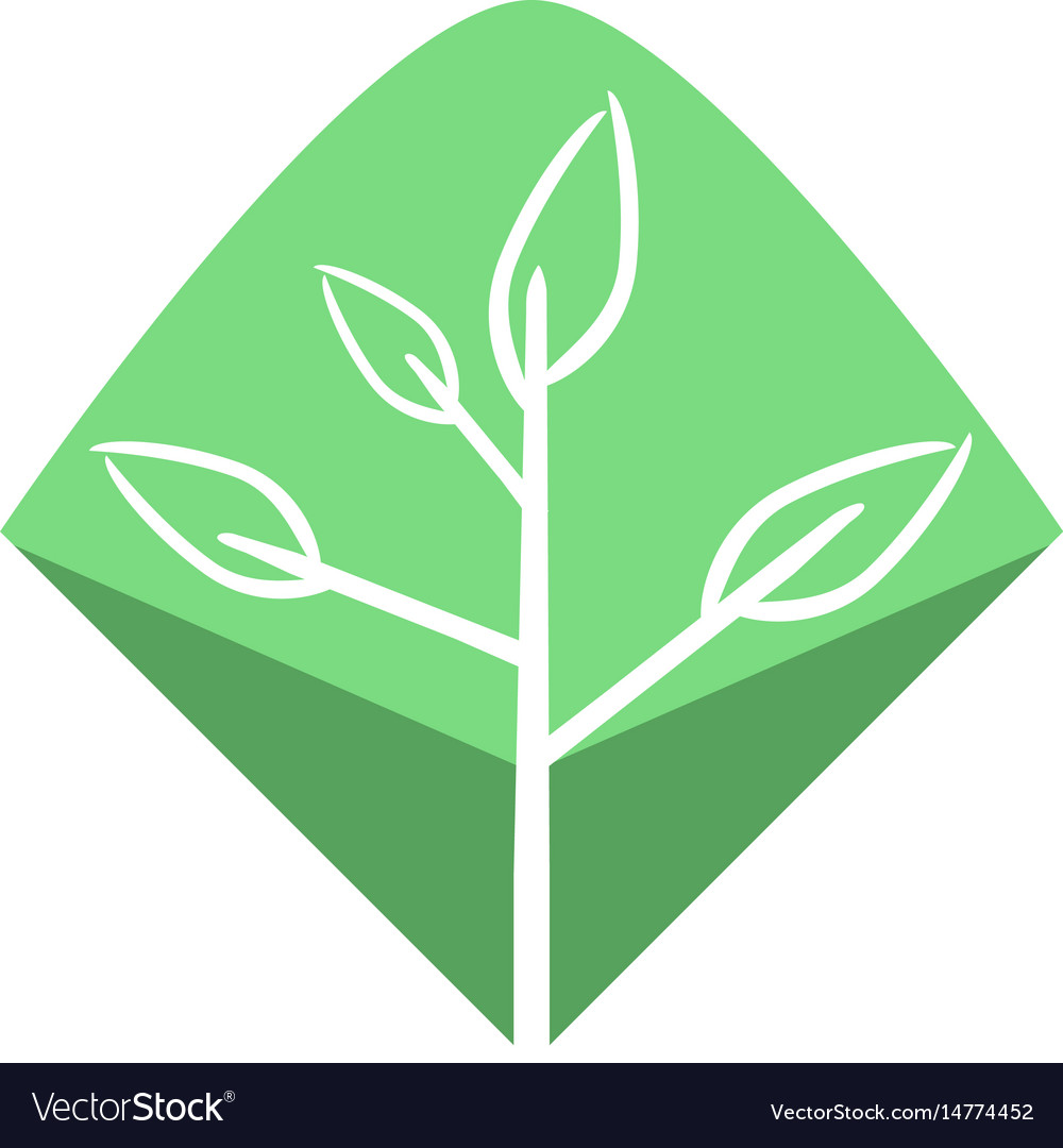 Minimalist natural world logo