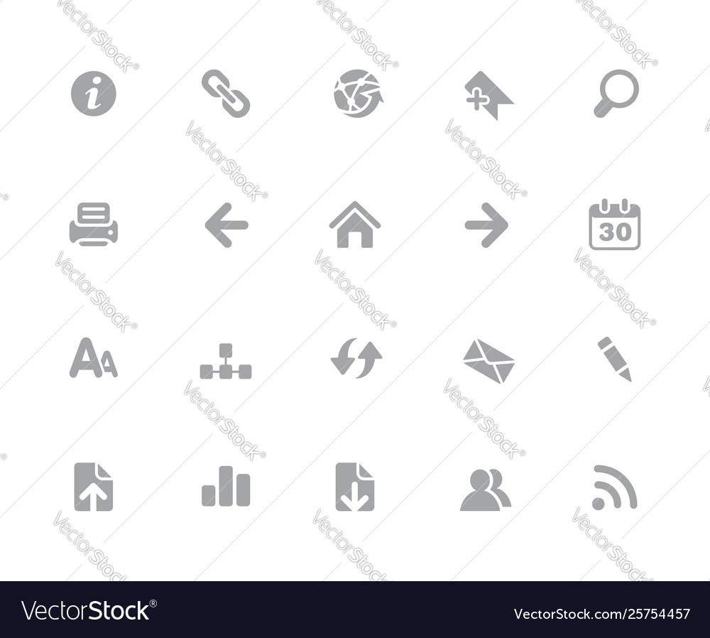 273214688 web icons 32 pixels icons white series