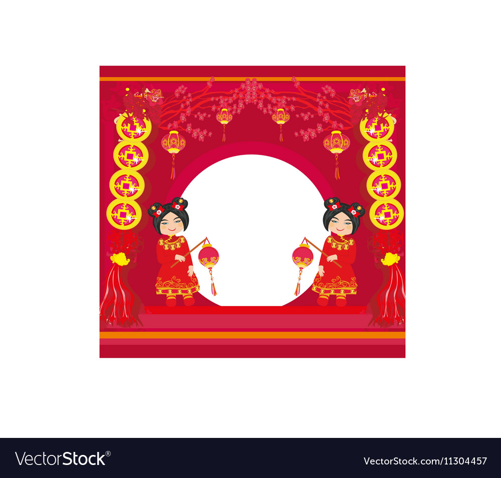 Mid-Autumn Festival for Chinese New Year Abstract
