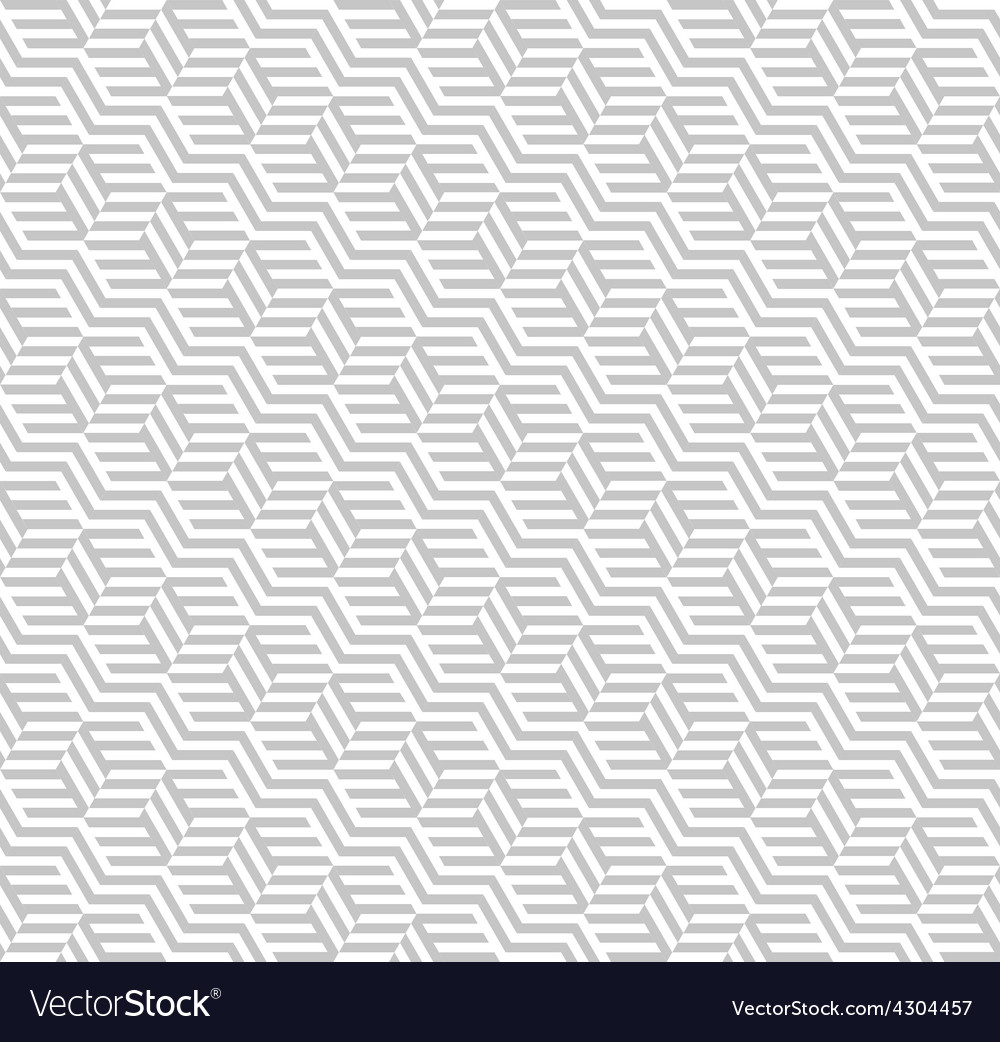 Seamless pattern with cubes Repeating modern