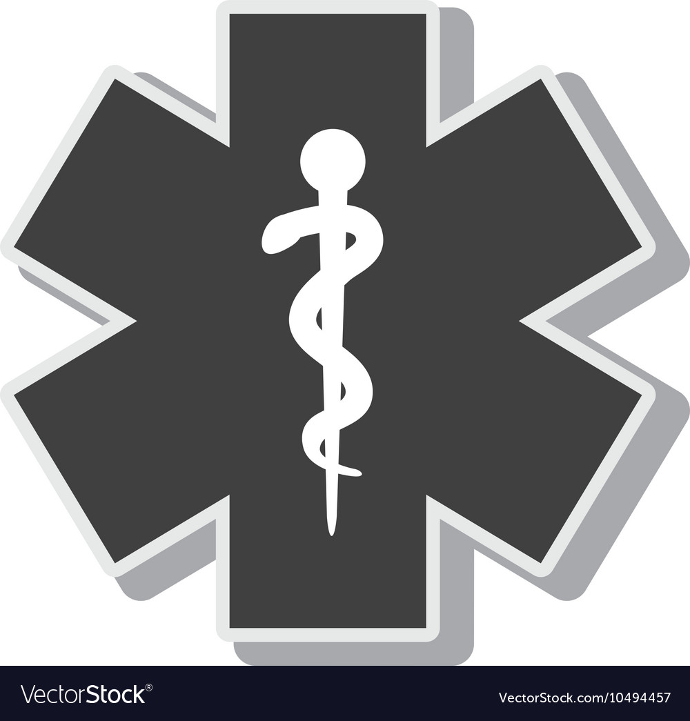 Symbol medicine medical service design