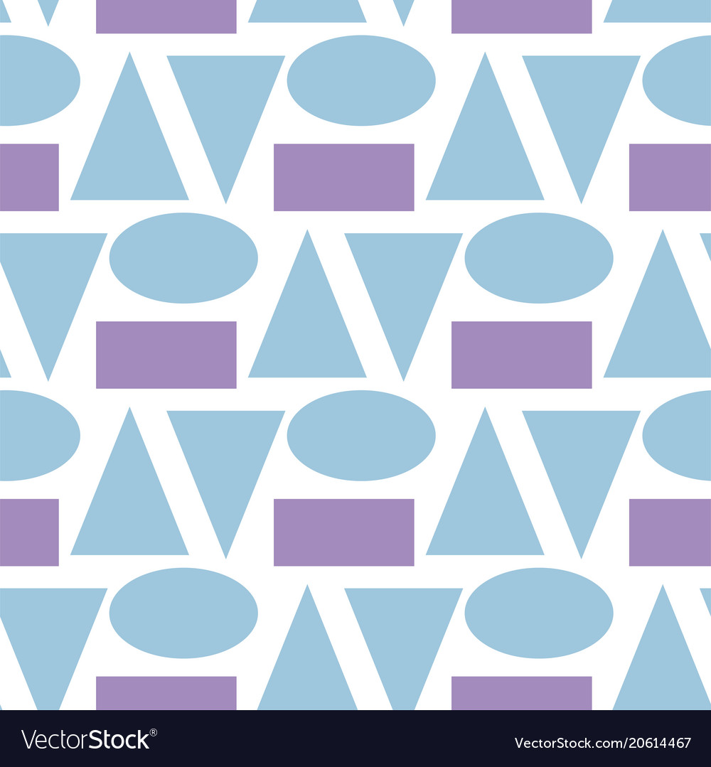 Art abstract geometry seamless pattern colour