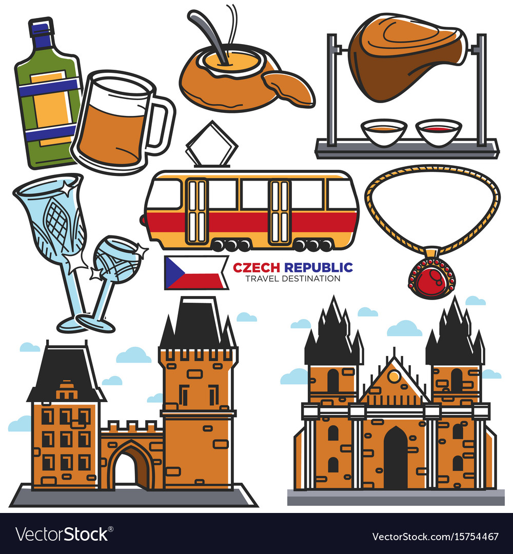 Czech travel landmarks and culture famous