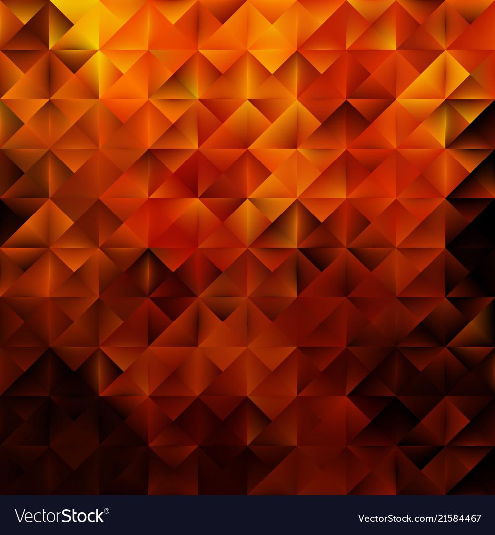 Golden geometric triangular pattern