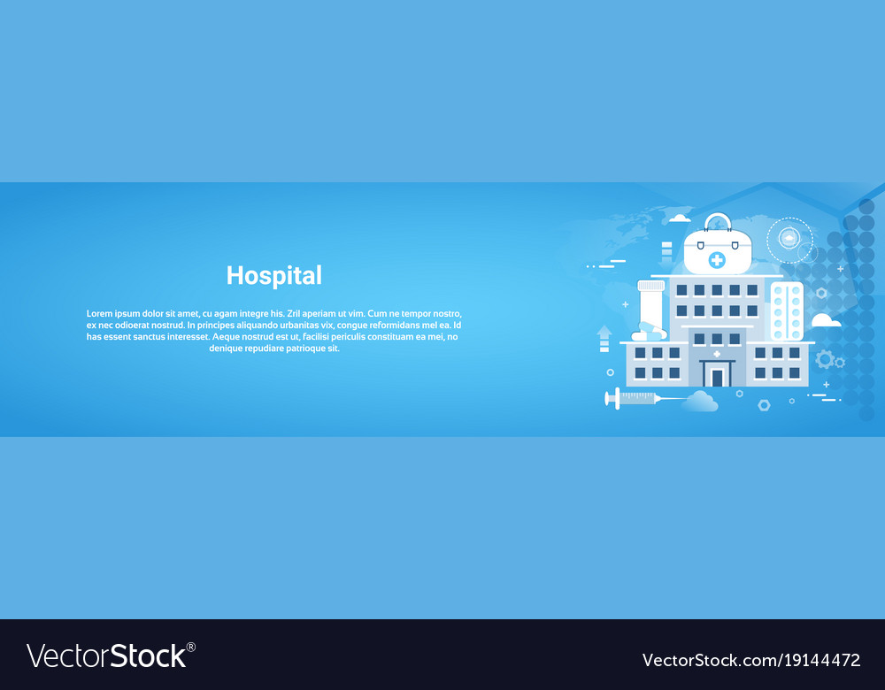 Hospital clinic and medical treatment concept