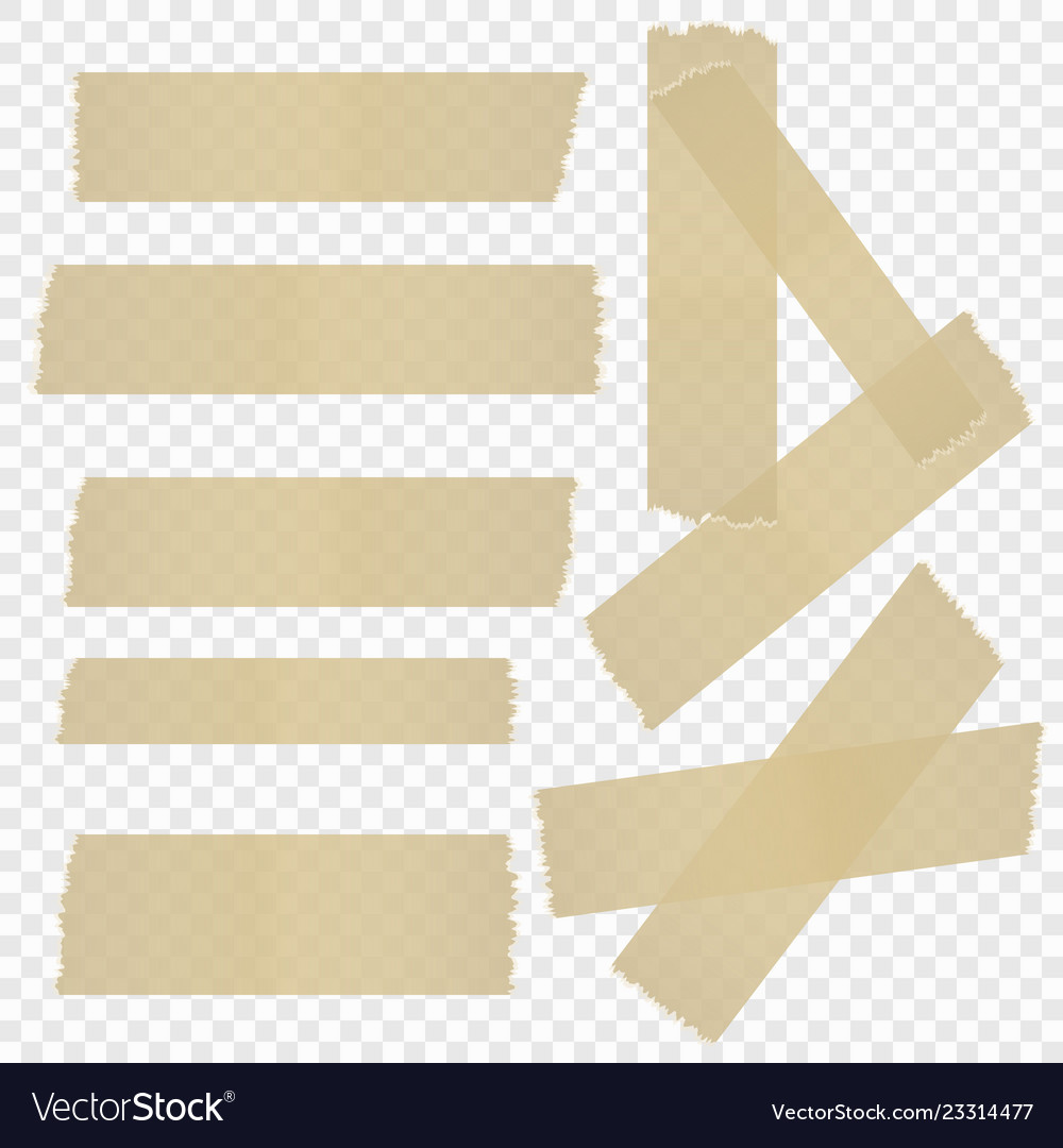 A selection of adhesive tape