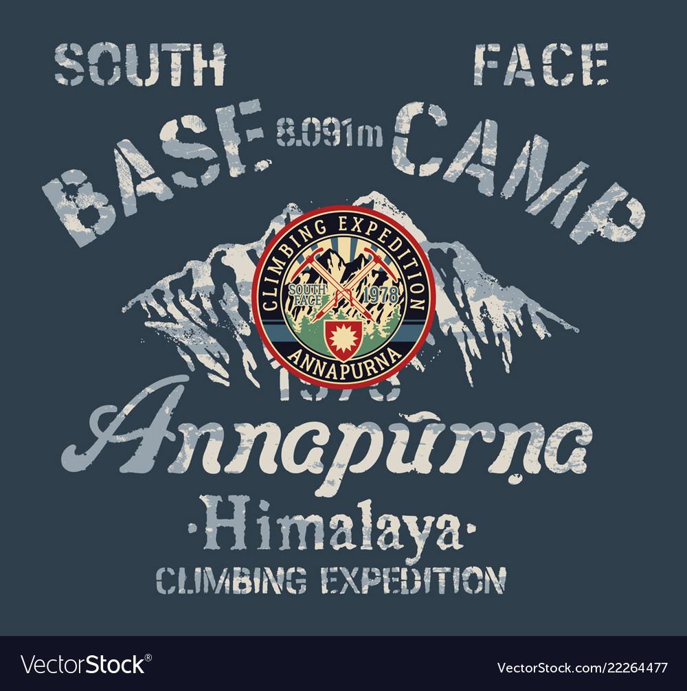 Annapurna himalaya south face climbing expedition