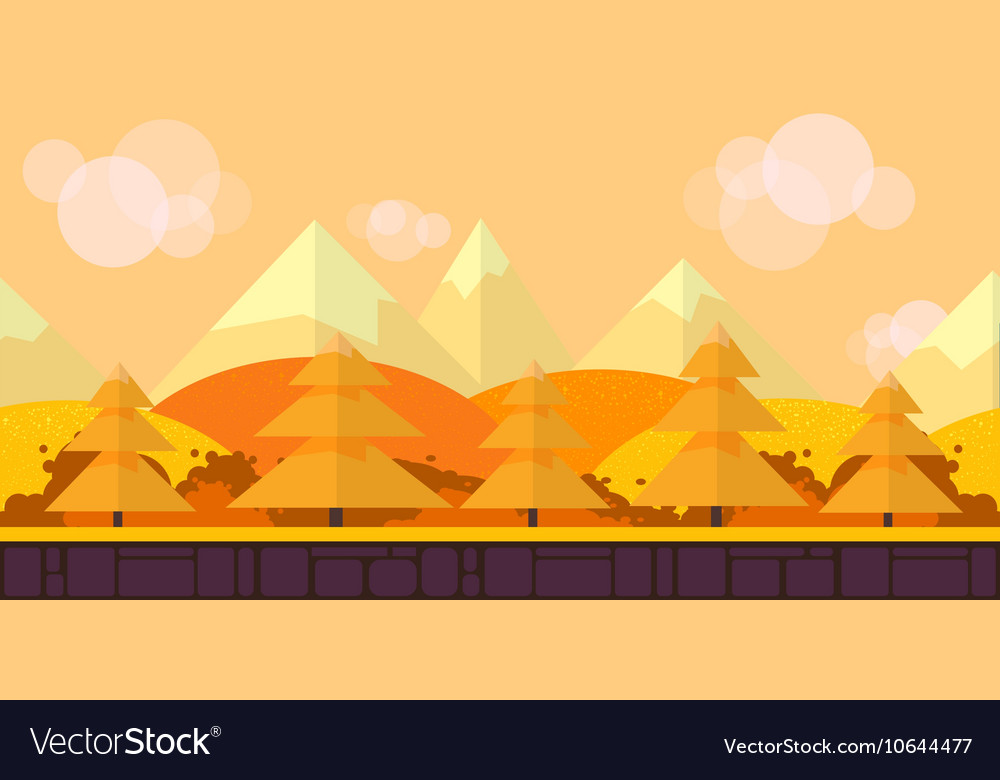 game seamless background flat style 2d royalty free vector
