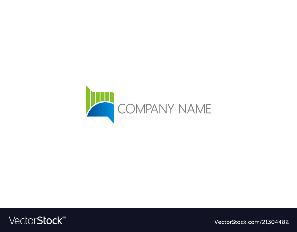 Business finance chart business logo