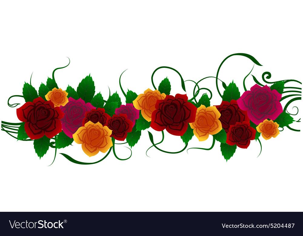 Roses floral design