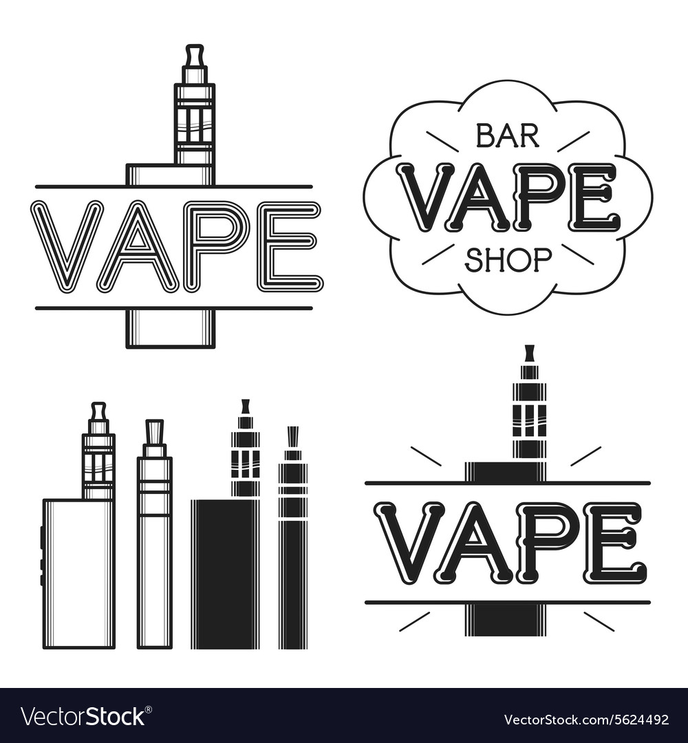 Vape shop logo