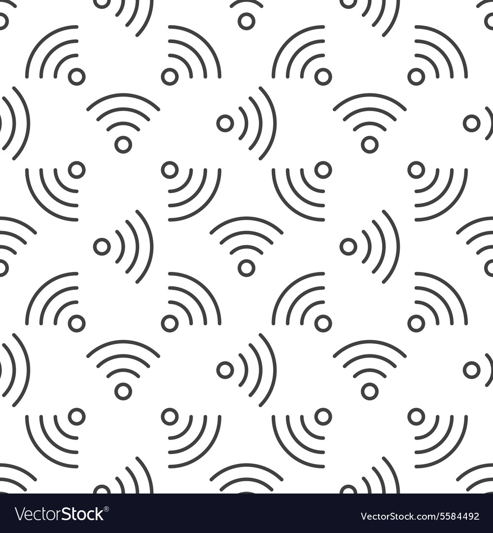 Wi-Fi seamless pattern
