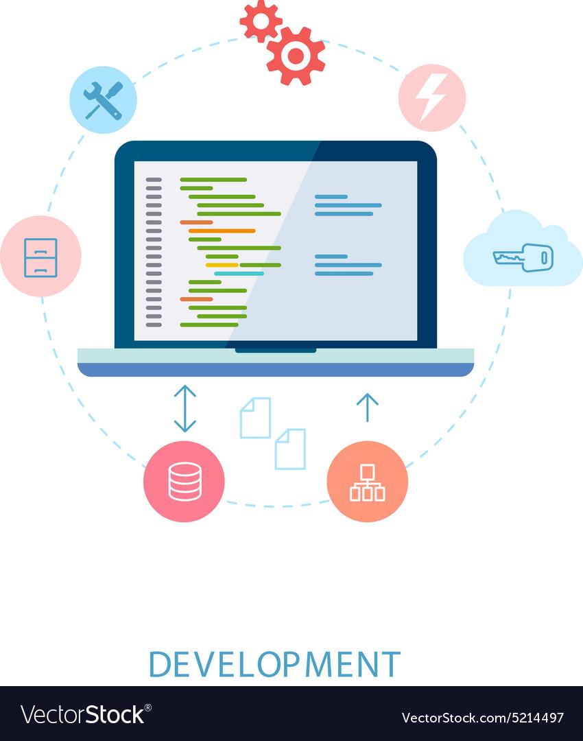 Application software developer and cloud database