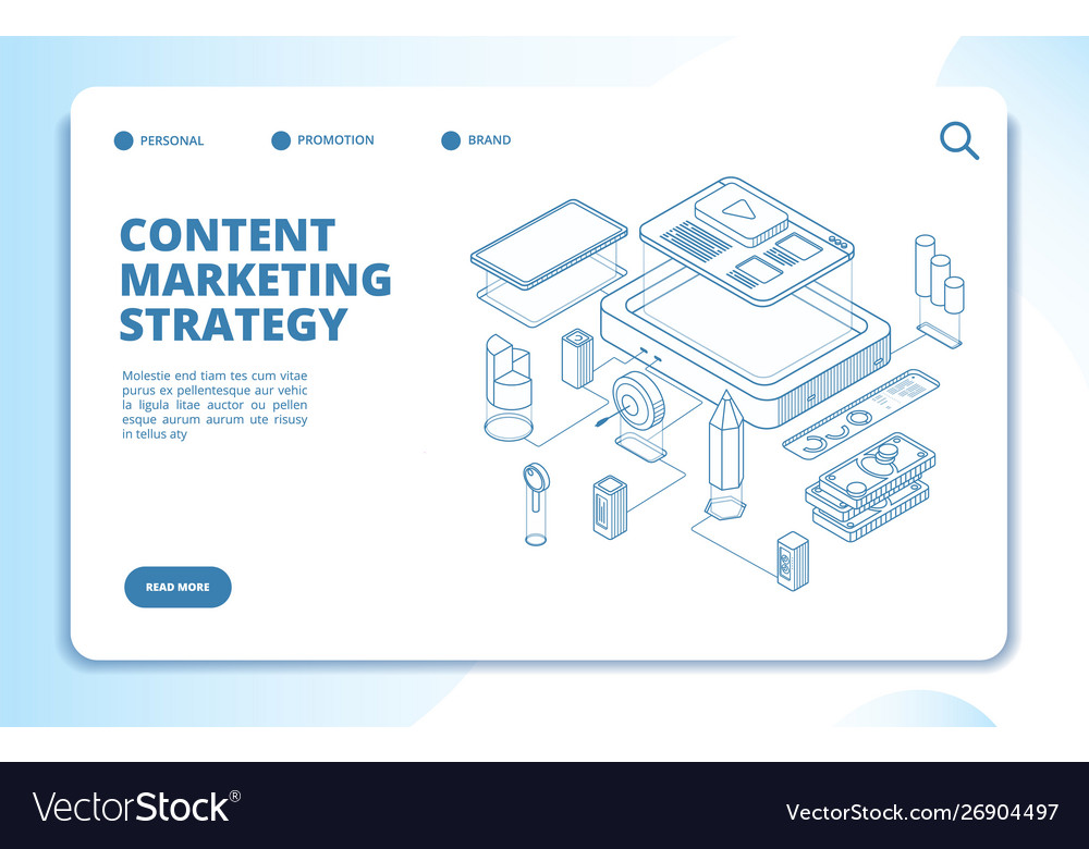 Content marketing website social network